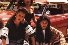 Členky hispánských gangů z Kalifornie.