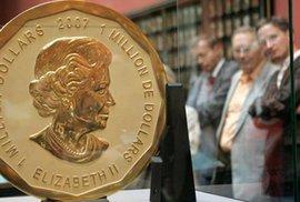 Z berlínského muzea ukradli vzácnou stokilogramovou zlatou minci, má cenu 112 milionů korun