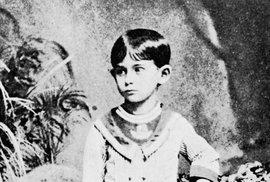 Malý Franz Kafka.