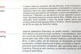 Oficiálně fuj! Lidé žijící v Blansku existují v nicotě, depresích a prázdnotě. Alespoň podle nového oficiálního průvodce Brnem vydaného za peníze daňových poplatníků Turistickým informačním centrem města Brna.