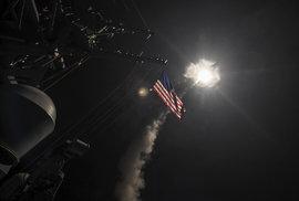 Útok USA na základnu v Sýrii
