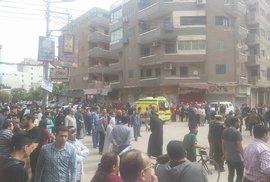 K útoku došlo ve městě Tanta severně od Káhiry.