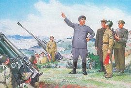 Unikátní korejská propaganda: Před 105 lety se narodil vůdce a zakladatel KLDR Kim Ir-sen