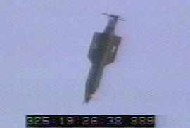 Zkušební odpálení bomby ze základny na Floridě v roce 2003