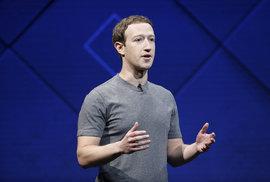 Mark Zuckerberg na konferenci F8 představil novinky, které chystá Facebook