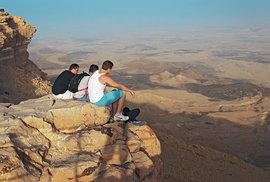Za monumentálním kaňonem nemusíte až do Ameriky. Navštivte Machteš Ramon na jihu Izraele
