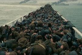 Záběry z filmu Dunkirk