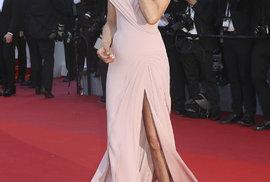Zahájení filmového festivalu v Cannes: Herečka Uma Thurman