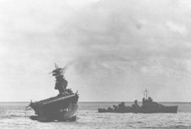 Bitva o malý atol Midway znamenala zlom ve válce v Tichomoří.