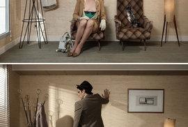 Erotická scéna je skvěle skrytá a je pouze na divákovi, aby ji uviděl.