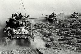Šestidenní válka začala 5. června 1967 úderem izraelského letectva proti leteckým základnám Egypta a skončila 10. června 1967, kdy Izrael ukončil bojové akce. Arabská koalice v ní utrpěla zdrcující porážku.
