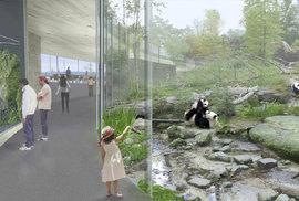 Vizualizace nového pavilonu