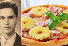 Zemřel Sam Panopoulos, muž který vymyslel legendární pizzu Havaj