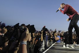 Linkin Park na Aerodrome festivalu.