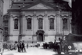 Poslední bitva operace Anthropoid v kostele sv. Cyrila a Metoděje: