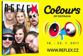 Chcete být na obálce Reflexu? Dorazte do našeho fotopointu na festival Colours of Ostrava!