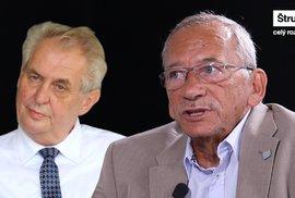 Kandiduje už Zeman jen pro posílení ega? Volby vyhraje a pak odstoupí, tvrdí senátorKubera
