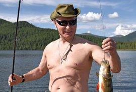 Akční hrdina Vladimir Putin.