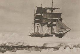 Scottova loď Terra Nova.
