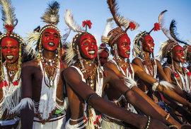 Začíná festival gerewol v Nigeru: Přehlídka krásy a slavnost volného sexu