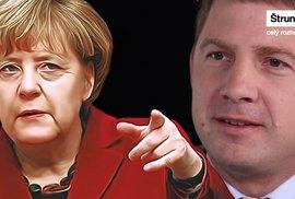Merkelová rozdala uprchlíkům milion pozvánek. Do Česka mohou přijít kdykoli, varuje Petr Mach