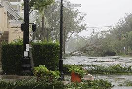 Hurikán Irma udeřil na USA