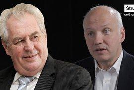 Kandidát na Hrad Fischer: Zeman jde proti proudu, je v tom obdivuhodný, prezident musí říkat nepříjemné věci