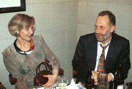 Daniela Kolářová s manželem Jiřím Ornestem