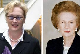 Meryl Streepová bude hrát Margaret Thatcherovou. Uvidíme levičácké orgie?
