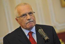 Václav Klaus a kouření: Zdraví lidem nutit nikdo nebude