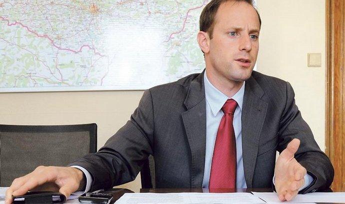 1. náměstek ministra pro místní rozvoj Daniel Braun