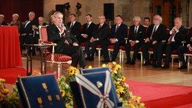 ONLINE: Oslavy 28. října bez Zemana, Ovčáček prosil o požehnání a Hrad zveřejní vyznamenané
