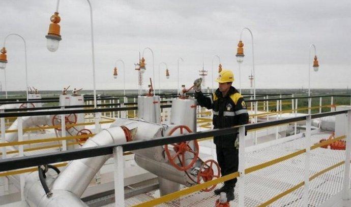Ropné pole Juganskněftěgaz v Západní Sibiři, kde spolu těží Rosněfť a Exxon Mobil