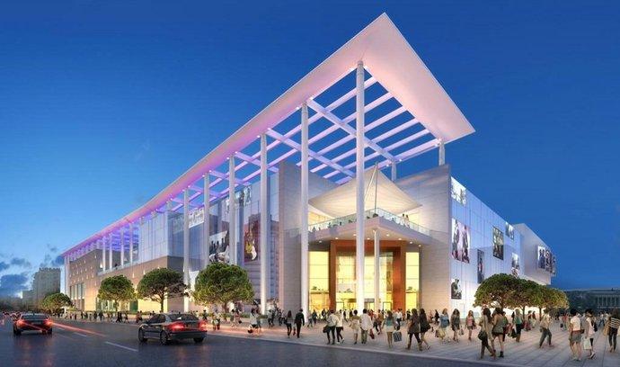 Projekt nákupního centra v Baku