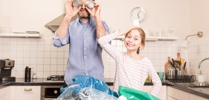 Zatočte s neporiadkom v odpadkoch a separujte správne
