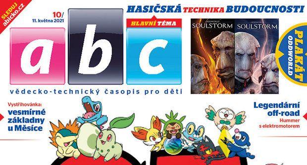 Pokémon, hasiči budoucnosti a vystřihovánka vesmírné základny v ABC