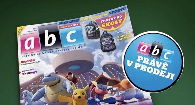Další vlna Pokémonů a moderní technologie ve sportu v novém ABC
