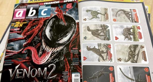 Venom a netradiční psí sporty v časopisu ABC