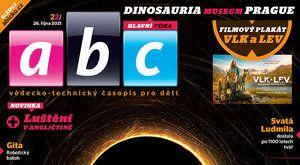 Duna a Dinosauria Museum Prague v novém ábíčku