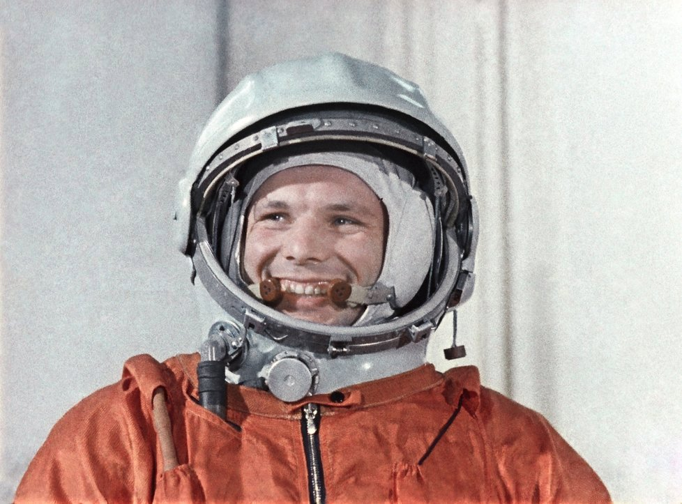 Kosmonaut Jurij Gagarin.