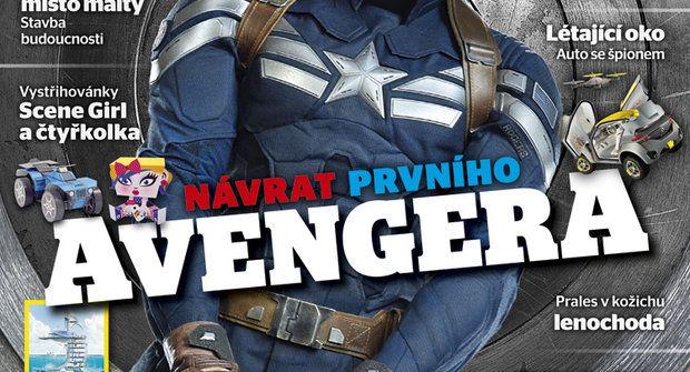 Co bude v ABC č. 7: První Avenger se vrací