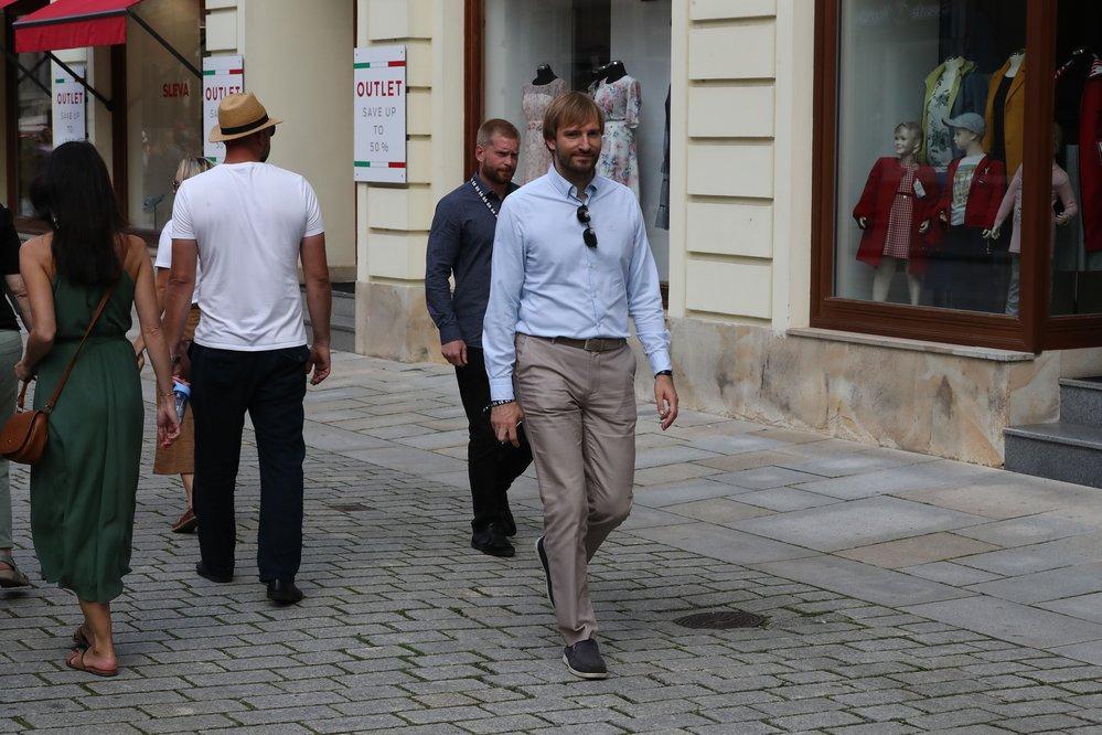Ministr zdravotnictví Adam Vojtěch ve Varech