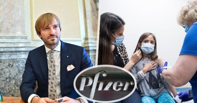 Očkování dětí Pfizerem: Bude pod 12 let možné i v Česku?