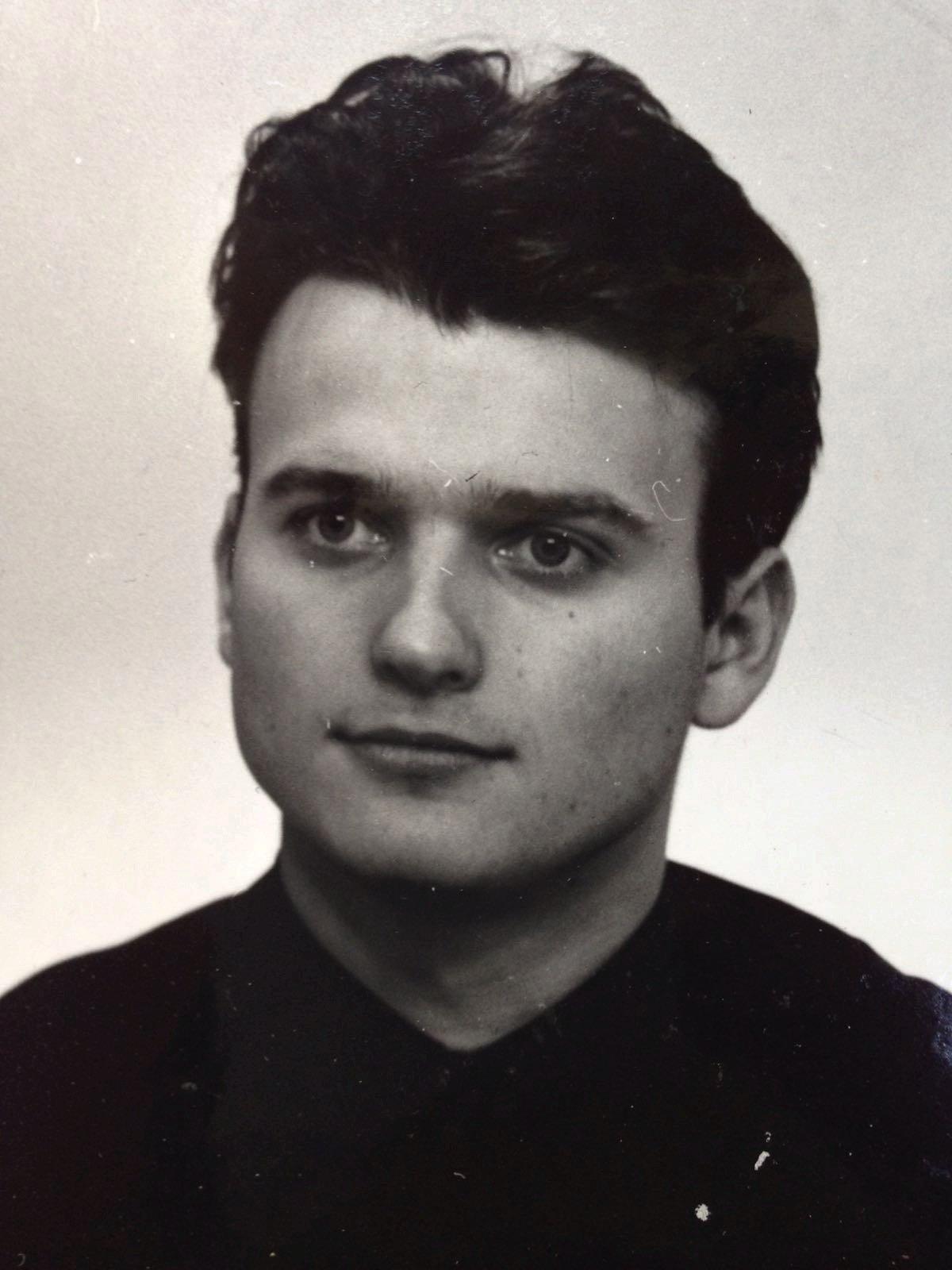 Dalibor Gondík v mládí