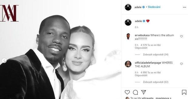 Adele a její nový partner Rich Paul