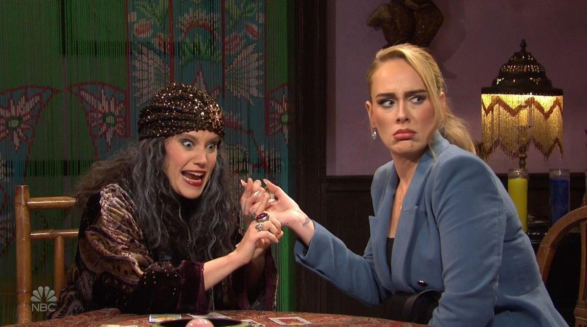 Zpěvačka Adele v show Saturday Night Live