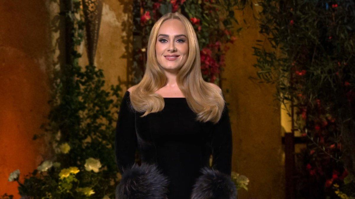 Zpěvačka Adele v show Satuday Night Live