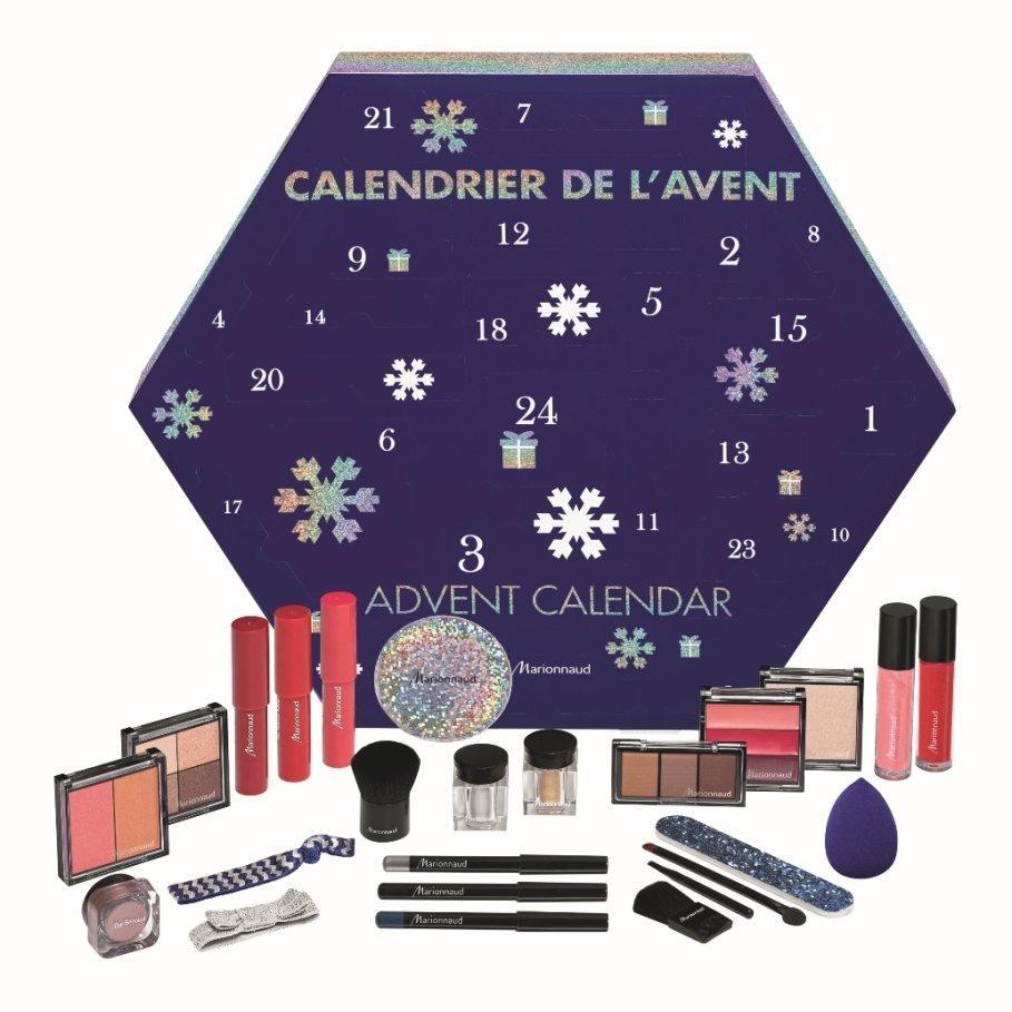 Adventní kalendář Marionnaud 2018, k dostání v síti parfumerií Marionnaud, 799 Kč