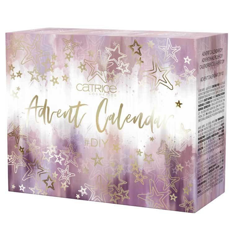 Adventní kosmetický kalendář pro rok 2018 s dekorativní kosmetikou, Catrice, 1099 Kč