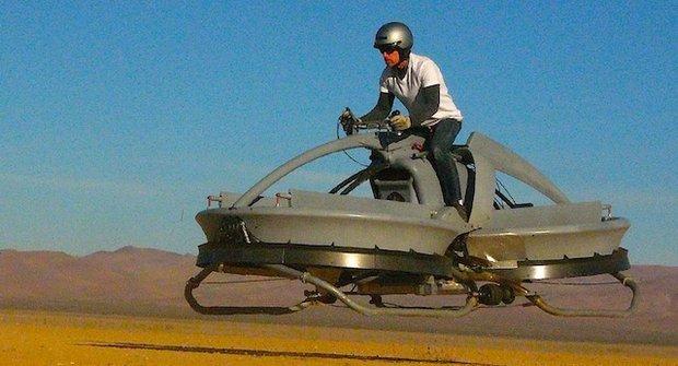 Aerofex: První krok k létající motorce ze Star Wars